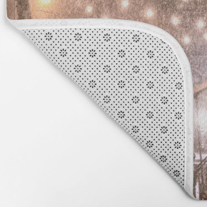 Snow - New York City - East Village Bath Mat