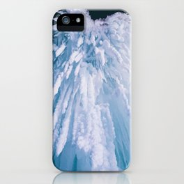 Icicle Art iPhone Case