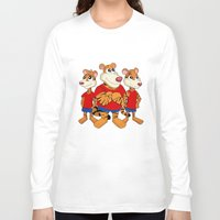 tigers Long Sleeve T-shirts featuring Tigers cartoon by MaxiHarmony