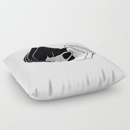 Yin and Yang Floor Pillow
