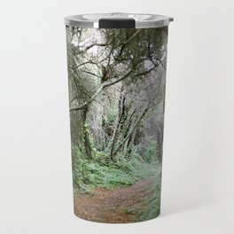 Tree Tunnel in the Forest - 35mm Film Travel Mug