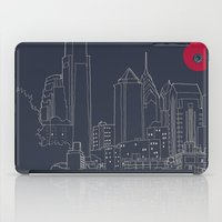 blueprint iPad Cases featuring Philly Blueprint by ralexandertrejo
