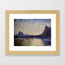 Canyon Landscape Framed Art Print