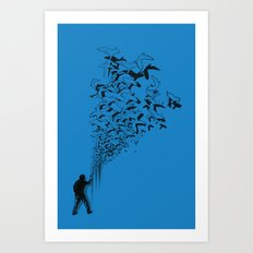 Flying High Art Print