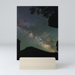 Galaxy Gazing Mini Art Print