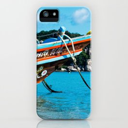 Long-Tail Koh Tao, Thailand iPhone Case