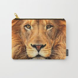 Wild Cat Glare Carry-All Pouch