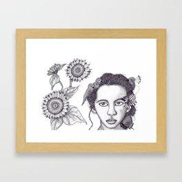 Raíces Framed Art Print