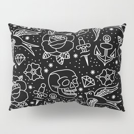 Black flash Pillow Sham