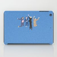 anchorman iPad Cases featuring The Channel 4 news team by Six Pixel Design