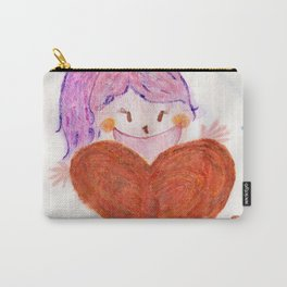 Palmier Biscuits Love Carry-All Pouch