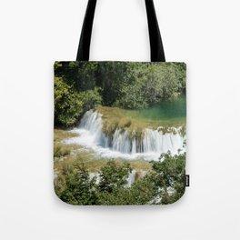 Czech waterfalls Tote Bag