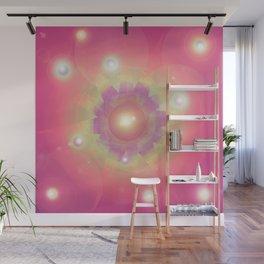 Pink Energy-Light Wall Mural