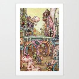 Grease! Art Print