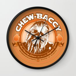 Chew-Baccy (Wookie Chewing Tobacco) Wall Clock