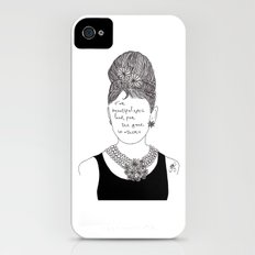 Audrey Hepburn iPhone (4, 4s) Slim Case