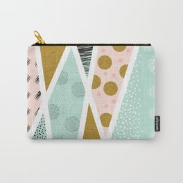 Abstract festive Carry-All Pouch