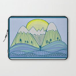 Come Play on the Mountains Laptop Sleeve