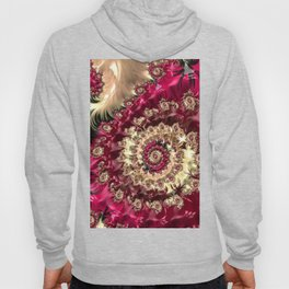 Hypnotic Red Reflections Hoody