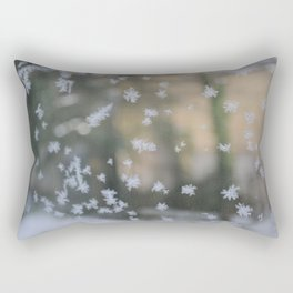 "It's frosty ""Ice Flower"" #2 #art #society6 Rectangular Pillow"