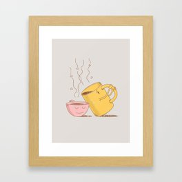 fifty-fifty  Framed Art Print