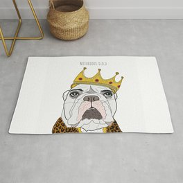 Celebrity Dogs-Notorious D.O.G. Rug