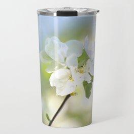Apple Tree Branch With Flowers - Spring Mood #decor #society6 #buyart Travel Mug