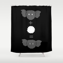 rule 3 Shower Curtain