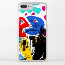 Cannes French Riviera Croisette Carlton Art Clear iPhone Case