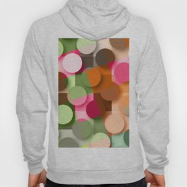 dots & squares Hoody