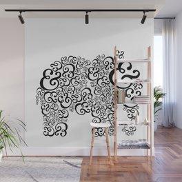 Ampersand Elephant Wall Mural