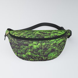 Dark Green Moss Fanny Pack