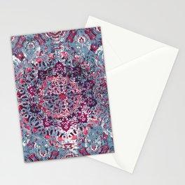 Vintage Boho Burgundy Mandala Stationery Cards