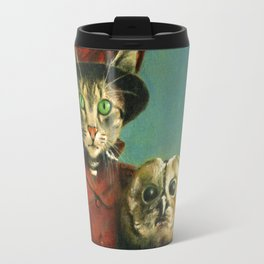 The Owl And The Pussy Cat Travel Mug