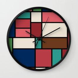 The Colors of / Mondrian Series - Spirited Away - Miyazaki Wall Clock