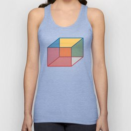 Just A Box Unisex Tank Top