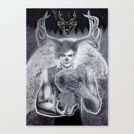 The Vision and the Veil Canvas Print