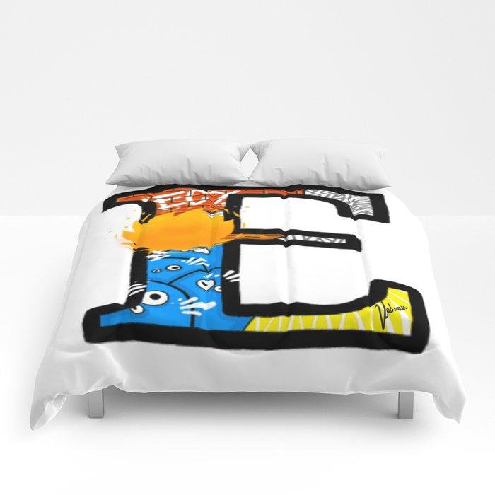 initial E Comforters