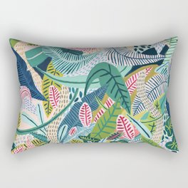 Jungle Pattern Rectangular Pillow