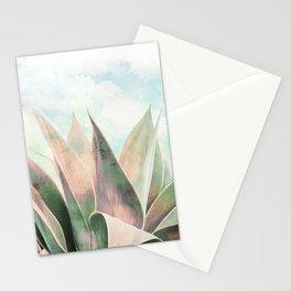 Landscape plant paint Stationery Cards