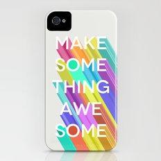 Make Something Awesome Slim Case iPhone (4, 4s)
