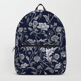 Blue Floral - 5 Backpack