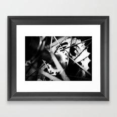 Bicycle hub Framed Art Print