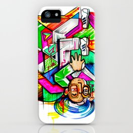 HeadSpin iPhone Case