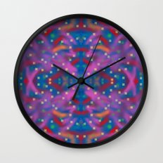 A Night To Remember Kaleidoscope Wall Clock