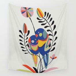 Rainbow lorikeet Wall Tapestry