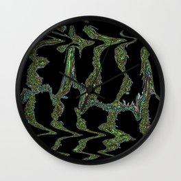 Microbiological Chevron Wall Clock