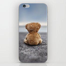 Teddy Blue iPhone Skin