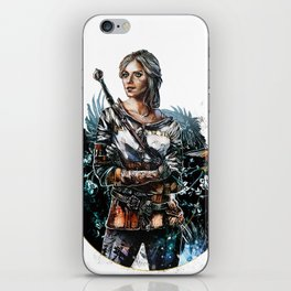 Ciri 2 - The Witcher Wild Hunt  iPhone Skin
