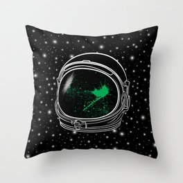 Alien Blood Throw Pillow
